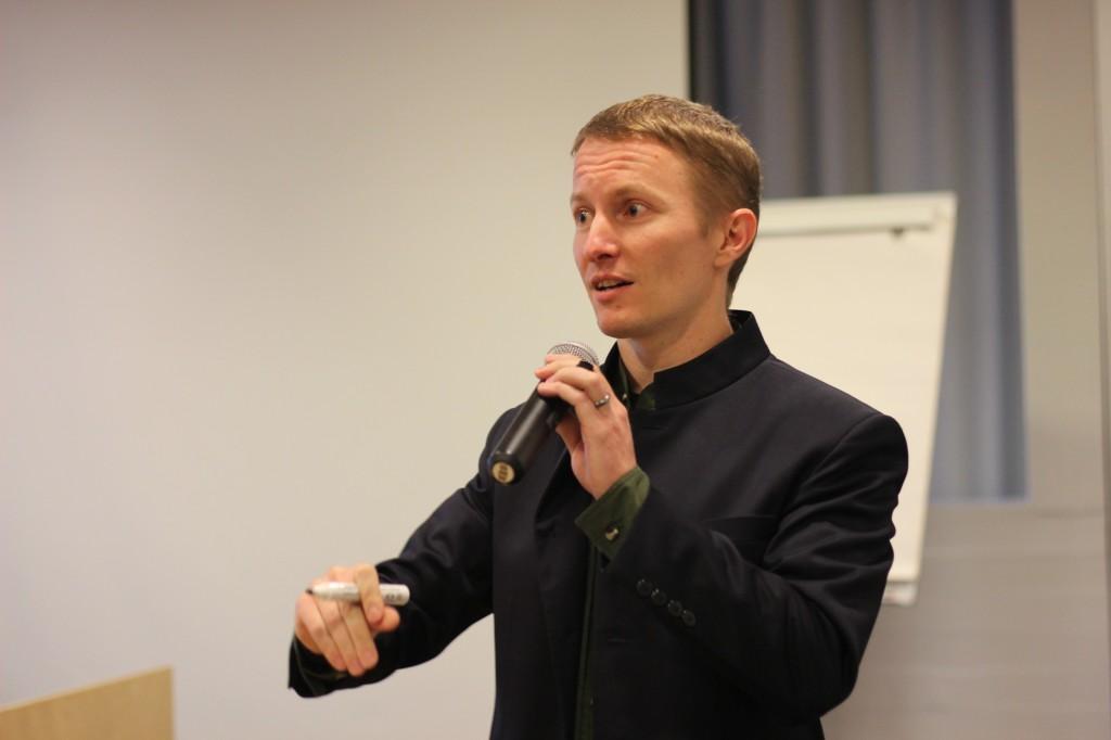 Upsyn puheenjohtaja Jari Suviola